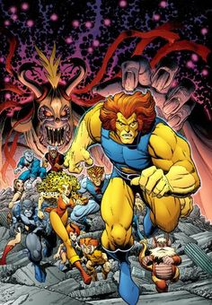Thundercats by Arthur Adams