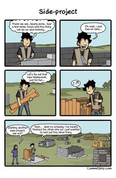 c4899bb43 West Side-project story | CommitStrip - Blog relating the daily life of web  agencies