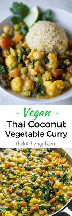 Easy vegan Thai comf