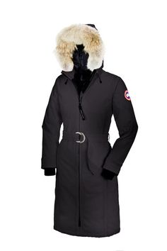 Canada Goose trillium parka sale authentic - Nina Dobrev and CANADA GOOSE-Kensington Fur-trimmed Down Parka ...