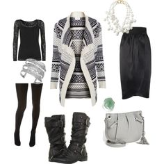 """#whatIwore """"Sweater Weather"""" by yesandnazzy on Polyvore"""