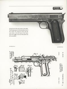 Extremely Rare Documented Colt Model 1900 Browning Slide Lock Prototype Semi-Automatic Pistol