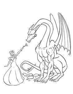 flying dragon coloring page jpg 612 792 a doodles pinterest