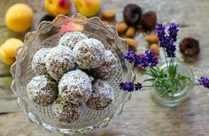Apricot and Lavender energy balls...