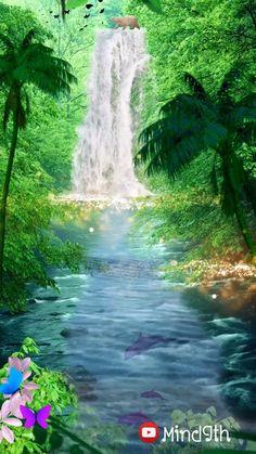 Beautiful Photos Of Nature, Beautiful Nature Wallpaper, Beautiful Landscapes, Beautiful Places, Beautiful Paintings Of Nature, Scenery Pictures, Nature Pictures, Beautiful Waterfalls, Beauty Trends