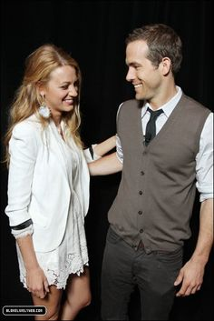 Ryan Reynolds & Blake Lively: such a great looking couple