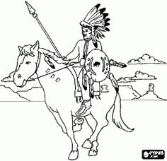 Indian and Pilgrim Coloring Pages Bible Printables The First