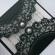 Easily create a similar effect by using a paper doily - glue & cut to size, fold over flaps.