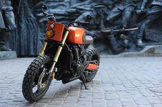 Honda CB600F by Old School Garage #streetfighter #hondacb #hoda #cb600 #oldschoolgarage #oldschool #custom #bike #motorcycles