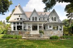28. Lake Minnetonka Cottage - Traditional - Exterior - minneapolis - by Sharratt Design & Company
