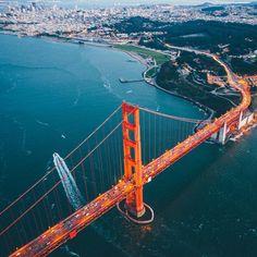 Golden Gate Bridge - Uczucia San Francisco