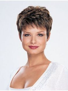 Hair Beauty - We have high quality Cropped Monofilament 5 Inches Fabulous Synthetic Wigs on sale. Short Pixie Haircuts, Cute Hairstyles For Short Hair, Pixie Hairstyles, Curly Hair Styles, Really Short Hair, Super Short Hair, Short Grey Hair, Thin Hair Cuts, Short Hair Cuts For Women
