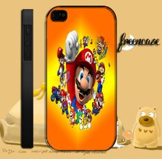 super mario design iPhone case for iphone 4 by FreenCase on Etsy, $15.55