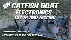 My catfish boat rigging and electronics.