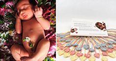 Los bonitos lazos para el cordón umbilical de los bebés, que pueden sustituir a…