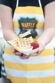 Waffle Shoppe! At the Provo Farmers Market.  If you live in Utah, you must TRY!!!!!
