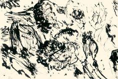 Der Maler Max Weiler 1910-2001 | Kunst - Zeichnungen und Arbeiten auf Papier - Autonomie der Mittel, 1960-1968 Watercolour, Diagram, World, Drawings, Art, Paper, Middle, Drawing S, Kunst