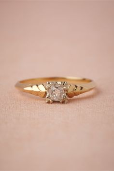Bayonet Ring in SHOP The Bride Bridal Jewelry at BHLDN