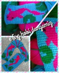 Tunisian slippers