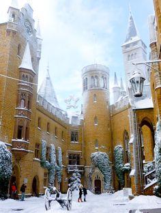 ***Christmas at Hohenzollern Castle (Germany) // Weihnachten im Burg Hohenzollern (Deutschland) by roba66