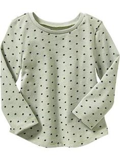 Rounded-Hem Long-Sleeve Tee for Baby | Old Navy