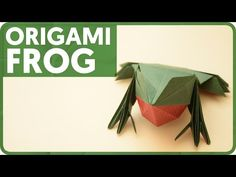 Origami Frog (Jun Maekawa) - YouTube