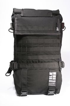 The newest addition to the MOLLE collection is the Ultimate Photographers Bag PRIME--It features 4 rows of MOLLE on the front closure, front panel, and wrapping