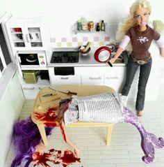 Serial killer Barbie