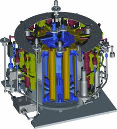 Max Planck Institute for Nuclear Physics cryogenic steam accumulator for stratospheric research