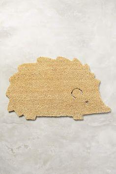 Hedgehog doormat