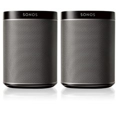 Story  A smart speaker system.  Sonos is the smart speaker system that streams all your favorite music to any room, or every room. Control your music with one simple app, and fill your home with pure, immersive sound.  Please note that this item is ineligible for discounts and promotions. Features  2 wireless PLAY:1 speakers for any two rooms Play different songs in each room, or the same song in both rooms Crystal-clear HiFi sound at any volume Stream all the music on earth from an app on…