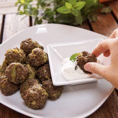 Polpette di carne e broccoli - Ricette Light - Ricette di Basilico Secco Broccoli, Ethnic Recipes, Diets