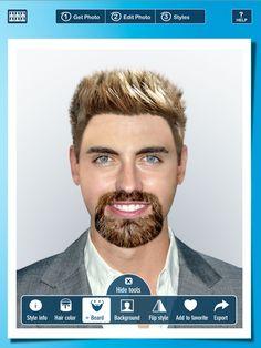 Haarfarben simulator app