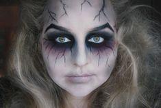 geisterbraut halloween makeup  zombie schminke