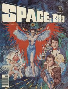 Space:1999 - the comic. They don't make 'em like that any more...
