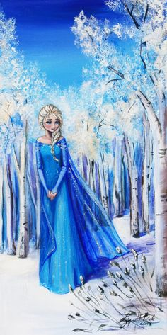 "Elsa snow queen by SigneSandelin.deviantart.com on @deviantART - From ""Frozen"""