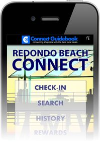 Screenshot of the Redondo Beach Connect Guidebook app for iPhone.