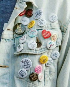 I wish I had kept my jean jacket with all my Duran Duran buttons!!