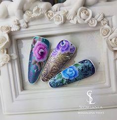 One stroke malowane żelami 💅💅💋💋 #nails #nail #paznokcie #hybrydy #manicure #szkolenia #koszalin #magdalenatraks #slowianka #słowiankakoszalin.