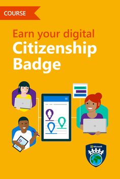 Being online is a huge part of life. Celebrate good digital citizens & learn how to become one! #MIEExpert #MSFTEDU