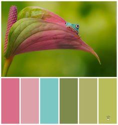 kleurenpalet inspiratie voor de babykamer - Interieur ideeën 10 -