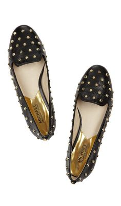 1b4758c561c146 Ailee studded glossed-leather slippers