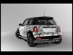 2010 Mini Cooper Bully by Denis Simachev & TopCar - Rear Angle - 1024x768 - Wallpaper