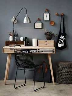 Home Office Space Design Ideas is a part of our furniture design inspiration series. Furniture Inspiration series is a weekly showcase of incredible designs Decor, Furniture, Home Office Decor, Interior, Office Interiors, Home Decor, Interior Design, Furniture Design, Office Design