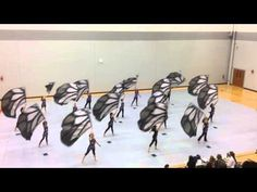 2016 Cadet Winter Guard - Butterfly Fly Away Marching Band Problems, Flute Problems, Marching Band Humor, Band Jokes, Band Nerd, Butterflies Flying, Winter Guard, Flies Away, Stage Show