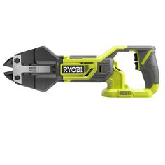 RYOBI introduces the new ONE+ Bolt Cutter. The hot forged steel jaws open to accommodate materials like chains, locks, bolts, fencing and wire shelving up to in. The ONE+ Bolt Cutter includes an operators manual and is sold as a tool only product. Cordless Reciprocating Saw, Reciprocating Saw Blades, Cordless Hammer Drill, Cordless Tools, Ryobi Tools, Dewalt Tools, Driver Tool, Recycling Programs, Forged Steel