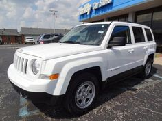 2013 Jeep Patriot Sport Sport 4dr SUV SUV 4 Doors Bright White Clearcoat for sale in Dale, IN Source: http://www.usedcarsgroup.com/used-jeep-for-sale-in-dale-in