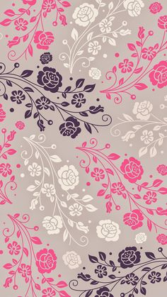 Imagem de wallpaper, flowers, and pink