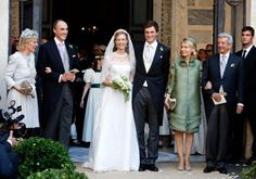 The entire Belgian Royal Family (with the exception of Queen Fabiola) attended today's wedding ofPrince Amedeo, Archduke of Austria-Este and Elisabetta Rosboch von Wolkenstein; as such, ther…