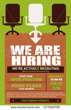 We are Hiring Poster or Banner layout Design. Job Vacancy Advertisement Concept on a dark blue background with speakers, hands and yellow label. Hiring Poster, We Are Hiring, Dark Blue Background, Job Posting, Speakers, Layout Design, Advertising, Banner, Label